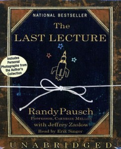 Randy Pausch's Last Lecture [真
